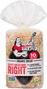 Dave's killer bread-white bread done right-healthier than artisan bread