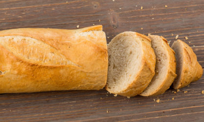 french bread slice