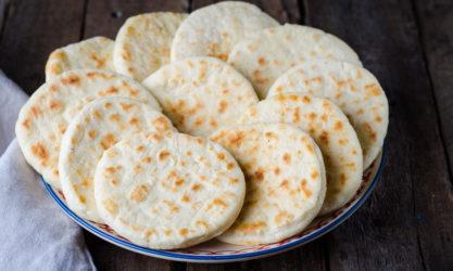 Africa Moroccan Pita Bread.