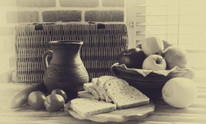 vintage- eat bread 90