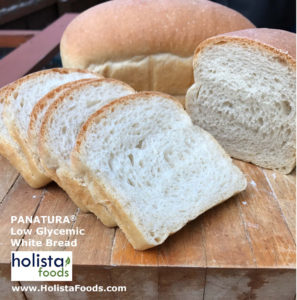 low GI bread by Holista Foods.