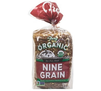 franz organic nine grain bread to lose weight