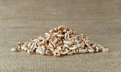 puffed grains