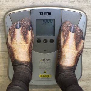 Week 3 weigh-in: 144.4